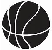 Basketball Clipart Image  Clip Art Illustration Of A Black