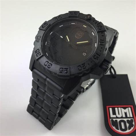 Luminox Navy Seal Xs 3502 Bo s luminox navy seal trident diver s blackout 3502 bo