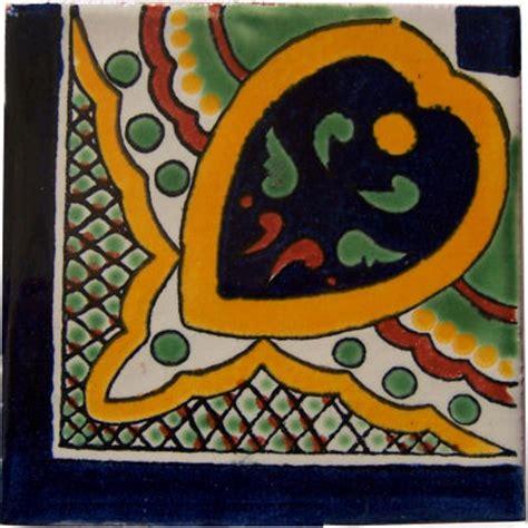 mex crafts imports greca c talavera mexican corner tile