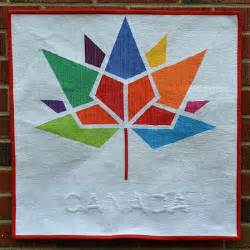 quilt inspiration free pattern day canadian flag