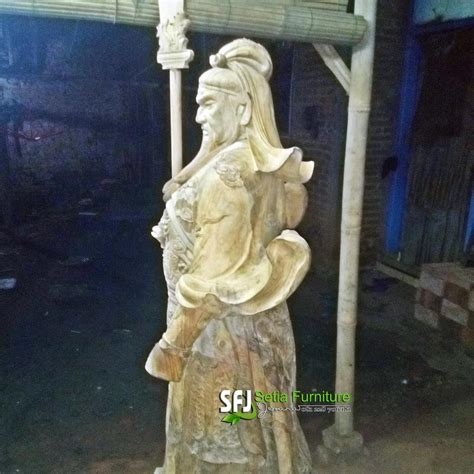 Harga Patung Kayu by Patung Kayu Kwan Kong Gambar Relief 3d Dan Patung Kayu