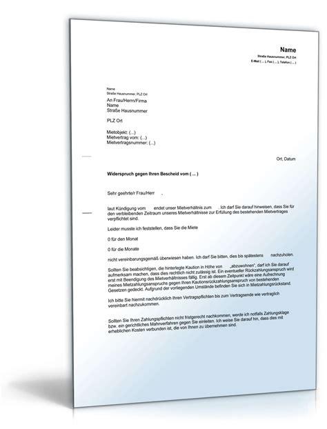 Musterbrief Kündigung Mietvertrag Mit Kaution Abmahnung Quot Abwohnen Quot Kaution Vorlage Zum
