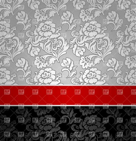 grey wallpaper border seamless grey victorian wallpaper with red border royalty