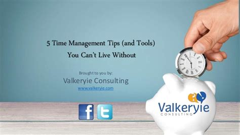 How You Can Stay Without Mba In Consulting by 5 Time Management Tips And Tools You Can T Live Without