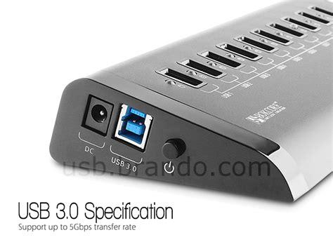 Usb Hub 3 0 Nyk K 03 usb 3 0 10 port hub