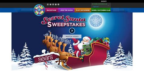 Wheel Of Fortune Sweepstakes Number - are you ready for the wheel of fortune secret santa sweepstakes