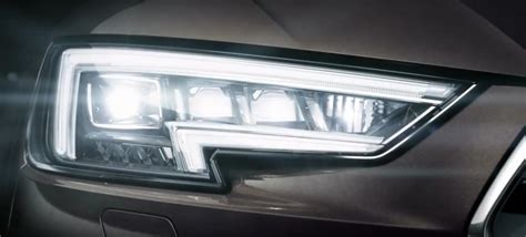 audi a4 headlights 2016 audi a4 commercial matrix led headlights autoevolution