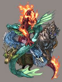 colors of dragons elemental dragons color by udoncrew on deviantart