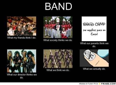 Marching Band Memes - band meme generator what i do