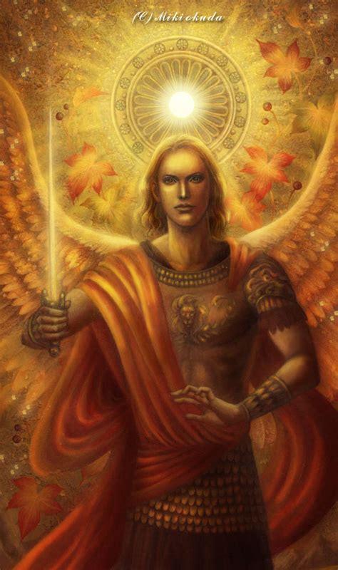 St Miki archangel michael by mikioku 359987 on wookmark