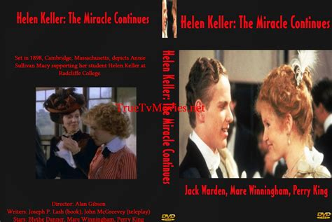 The Miracle Continues Helen Keller The Miracle Continues 1984 Warden Mare Winningham Perry King