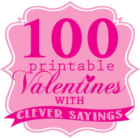 sweet quotes for valentines printable valentines with sayings skip to my lou