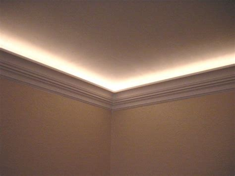installing crown molding with led lighting 48 best crown molding on vaulted ceiling images on