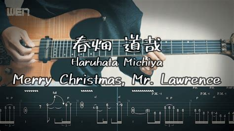 tab merry christmas mrlawrence guitar cover  wen youtube
