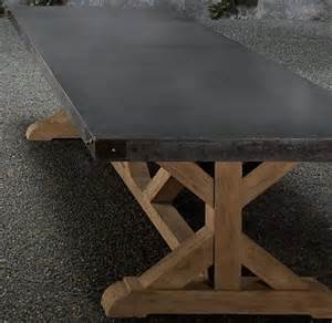 Concrete Top Outdoor Dining Table Concrete Top Table By Nuele Bret S Office
