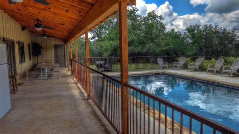 Frio River Cabins With Pool by 19th Frio River 19th Home With Pool At The
