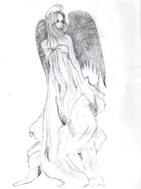 tattoo of angel manga guardian angel tattoo design by chazofearth on deviantart
