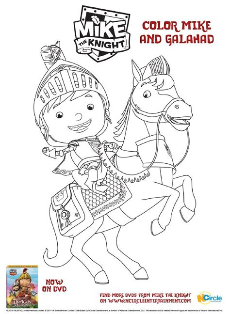 nick jr mike the knight coloring pages 62 best images about mike the knight on pinterest