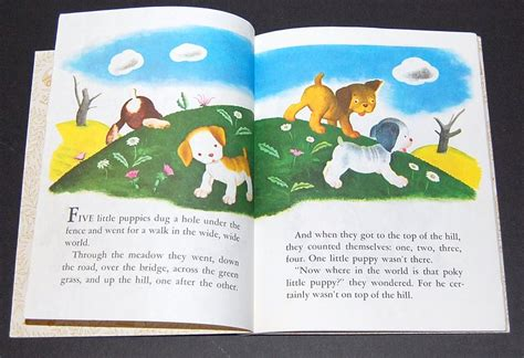 Poky Puppy And The Patchwork Blanket - circa 1970 quot the poky puppy quot golden book