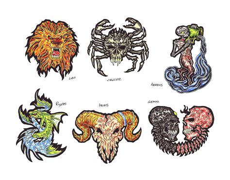 zodiac tattoo design zodiac tattoos and designs page 112