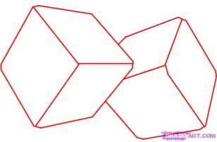 How to draw dice step 1 jpg