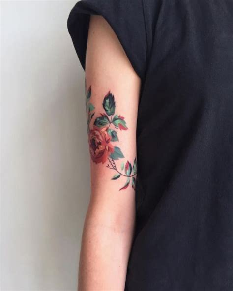 flower forearm tattoos 25 best ideas about floral arm on