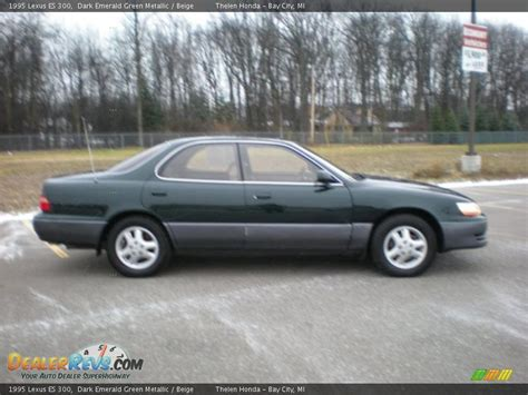 dark green lexus 1995 lexus es 300 dark emerald green metallic beige