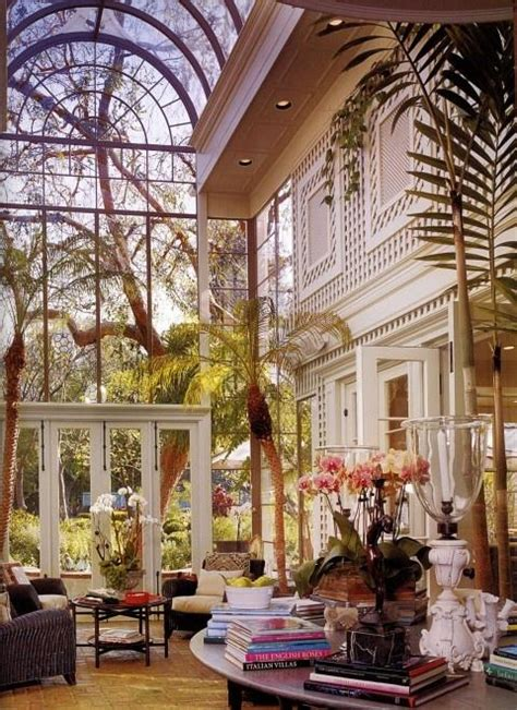 Beautiful Conservatory Interiors by Vivre Dans Une Serre Paperblog