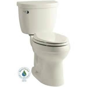home depot kohler toilet kohler cimarron 2 1 28 gpf high efficiency elongated