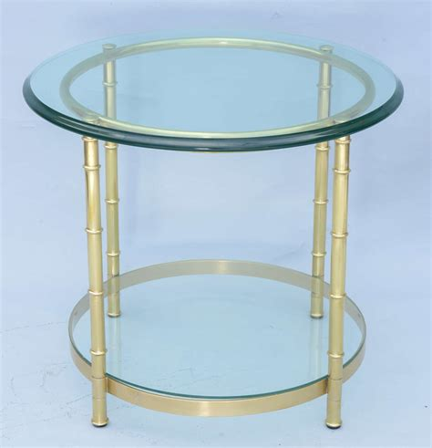 faux bamboo end table at 1stdibs polished brass faux bamboo end table for sale at 1stdibs