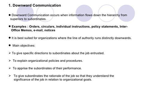 inter office communication organizational communication