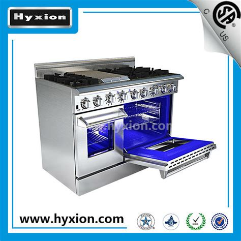 Luxurious Gas Oven luxury 6 burner gas range with griddle oven buy
