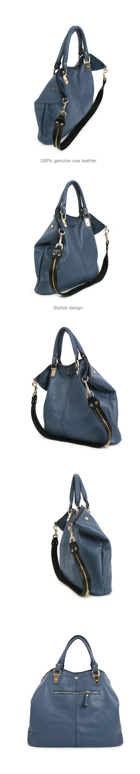 leather women bag shoulder handbag tote hobo black brown