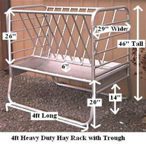 Free Standing Hay Rack by Small Livestock Wall Mount Hay Racks