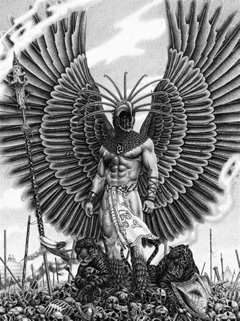 quetzalcoatl tattoo aztecs