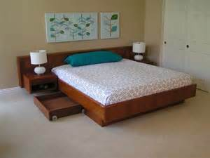 Floating Platform Bed With Drawers Best 25 Storage Bed Ideas On Diy Storage