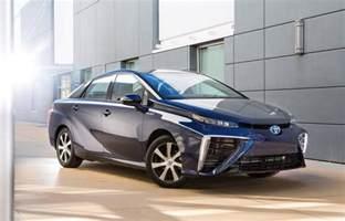2016 Toyota Vehicles 2016 Toyota Mirai Name For Fuel Cell Sedan Hydrogen