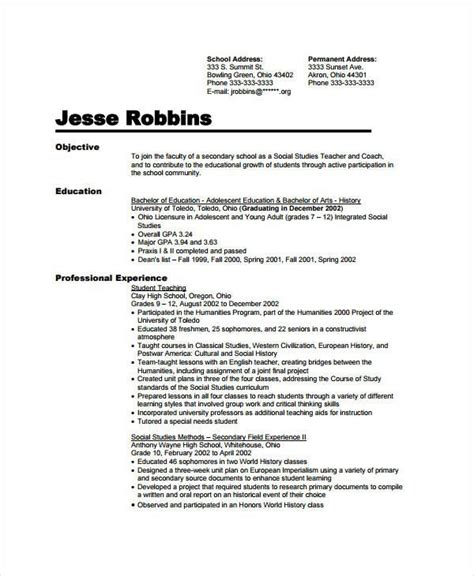 Preschool Resume by Sle Resume For Assistant In Preschools Resume