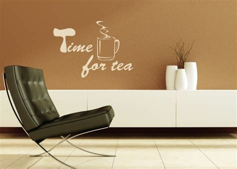 Kleine Tattoos 5166 by Wandtattoo Time For Tea K 252 Che Co Wandtattoos