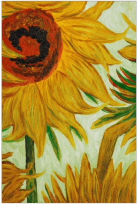 gogh fiori 12 best images about painting enrichment on