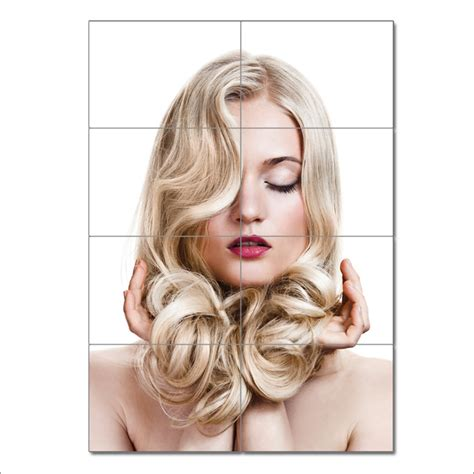 Hairstyle Posters by Curly Hairstyle Barber Haircuts Block Poster