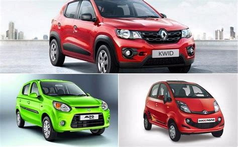 cheapest cars  india ndtv carandbike