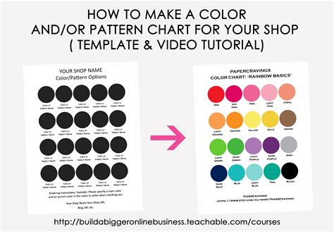 color pattern maker how to make a color chart in photoshop build a bigger online