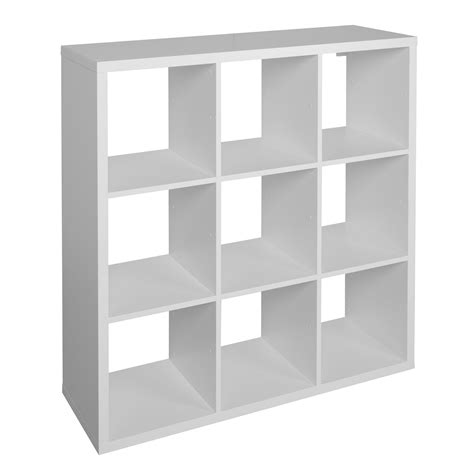 cube shelving units form mixxit white 9 cube shelving unit h 1080mm w 1080mm departments tradepoint