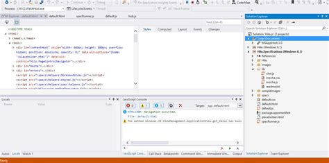 javascript tutorial msdn unit test for html5 javascript app