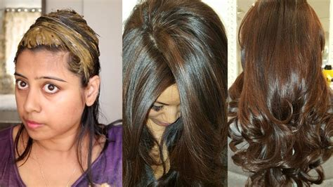 hair color at home how to colour your hair chocolate brown naturally at home