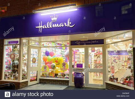 Hallmark Gift Card - hallmark cards retail shop front stock photo royalty free image 62417090 alamy