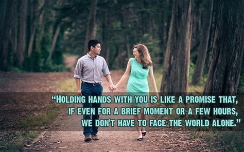 Holding Hand Quotes and Messages   Romantic & Cute   WishesMsg