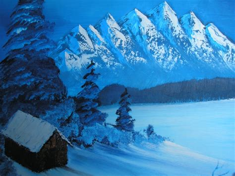 bob ross painting attempts bob ross painting canvas painting