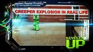 Backyard Bats Minecraft Real Life Creeper Explosion Youtube